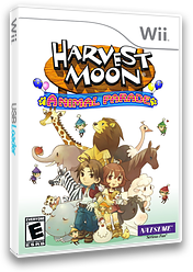Harvest Moon: Animal Parade Wii cover (RBIEE9)