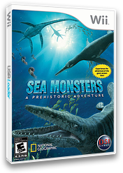 Sea Monsters: A Prehistoric Adventure Wii cover (RC7E20)