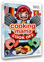 Cooking Mama: Cook Off Wii cover (RCCE5G)