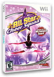 All Star Cheer Squad Wii cover (RCXE78)