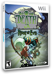 Death Jr.: Root of Evil Wii cover (RDJE4F)