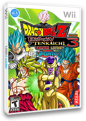 Dragon Ball Z Budokai Tenkaichi 3 Version! Latino Beta 3 Update 1 CUSTOM cover (RDYE70)