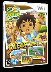 Go, Diego, Go! Safari Rescue Wii cover (REQE54)
