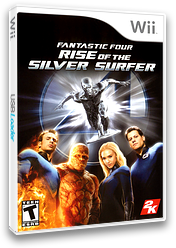 Fantastic Four: Rise of the Silver Surfer Wii cover (RF2E54)