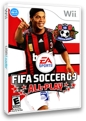 FIFA Soccer 09 All-Play Wii cover (RF9E69)