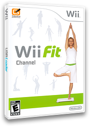 Wii Fit Channel Channel cover (RFNE)