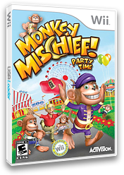 Monkey Mischief! Party Time Wii cover (RFVE52)