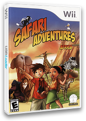 Safari Adventures Africa Wii cover (RFWE5Z)