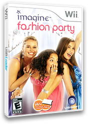 Imagine Fashion Party Wii cover (RFZE41)