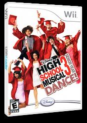 High School Musical 3: Senior Year Dance! Wii cover (RH3E4Q)