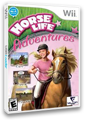 Horse Life Adventures Wii cover (RH5EVN)