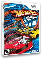 Hot Wheels: Beat That! Wii cover (RHWE52)