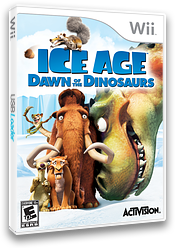 Ice Age: Dawn of the Dinosaurs Wii cover (RIAE52)