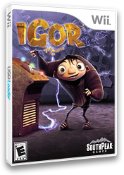 Igor the Game Wii cover (RIBES5)