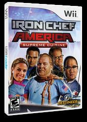 Iron Chef America: Supreme Cuisine Wii cover (RICENR)