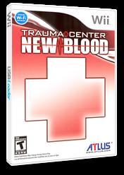 Trauma Center: New Blood Wii cover (RK2EEB)