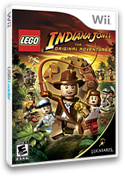 LEGO Indiana Jones: The Original Adventures Wii cover (RLIE64)