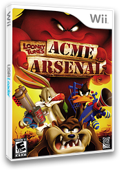 Looney Tunes: Acme Arsenal Wii cover (RLYEWR)