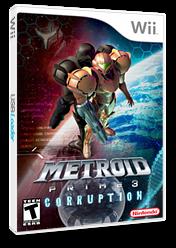 Metroid Prime 3: Corruption Wii cover (RM3E01)