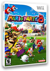 Mario Party 8 Wii cover (RM8E01)