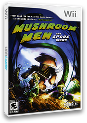 Mushroom Men: The Spore Wars Wii cover (RM9EGM)