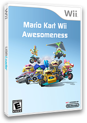 Mario Kart Wii Awesomeness CUSTOM cover (RMCE98)