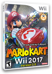 Mario Kart Wii 2017 CUSTOM cover (RMCEB2)
