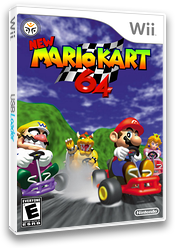 New Mario Kart Wii 64 CUSTOM cover (RMCEG5)