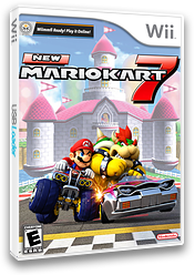 New Mario Kart Seven CUSTOM cover (RMCEM6)