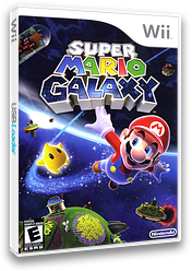 Super Mario Galaxy Wii cover (RMGE01)