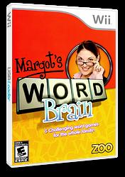 Margot's Word Brain Wii cover (RMIE20)