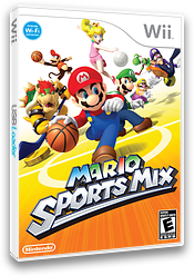 Mario Sports Mix Wii cover (RMKE01)