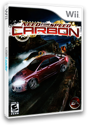 Need for Speed Carbon Wii cover (RNSE69)