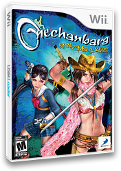 Onechanbara: Bikini Zombie Slayers Wii cover (RONEG9)