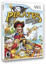 Pirates: Hunt for Blackbeard's Booty Wii cover (RP7E52)