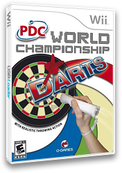 PDC World Championship Darts 2008 Wii cover (RPDEGN)