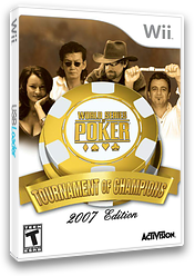World Series of Poker: Tournament of Champions 2007 Edition Wii cover (RPKE52)