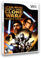 Star Wars The Clone Wars: Republic Heroes Wii cover (RQLE64)