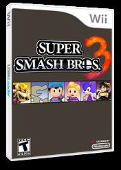 Super Smash Bros. 3 CUSTOM cover (RSBE24)