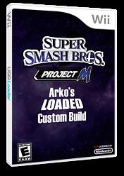 Super Smash Bros. Project M: Arko's Loaded Custom Build CUSTOM cover (RSBE30)