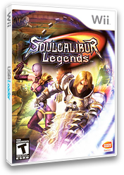 Soulcalibur: Legends Wii cover (RSLEAF)