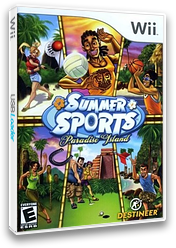 Summer Sports: Paradise Island Wii cover (RSUENR)
