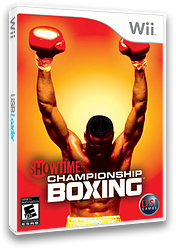 Showtime Championship Boxing Wii cover (RSYE20)