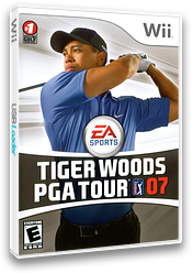 Tiger Woods PGA Tour 07 Wii cover (RT7E69)