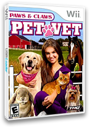 Paws & Claws: Pet Vet Wii cover (RTEE78)