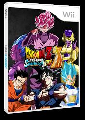 Dragon ball Z Budokai Tenkaichi 3 WII TSM CUSTOM cover (RTME70)