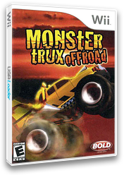 Monster Trux Offroad Wii cover (RTQENR)