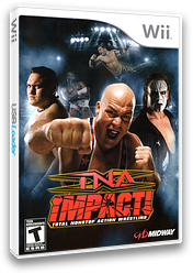 TNA iMPACT! Wii cover (RTWE5D)
