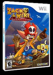 Zack & Wiki: Quest for Barbaros' Treasure Wii cover (RTZE08)