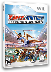 Summer Athletics: The Ultimate Challenge Wii cover (RU3E5Z)